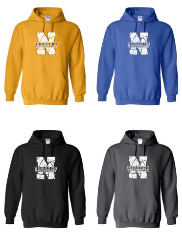 NIACC Volleyball Hooded Sweatshirt (3 styles)