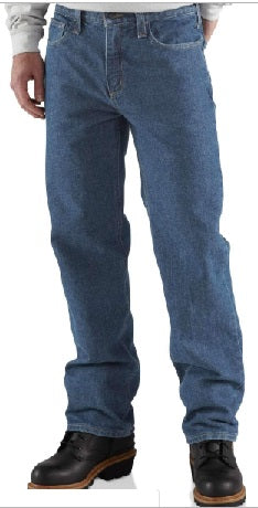 AMU CARHARTT FLAME-RESISTANT RELAXED-FIT UTILITY JEAN