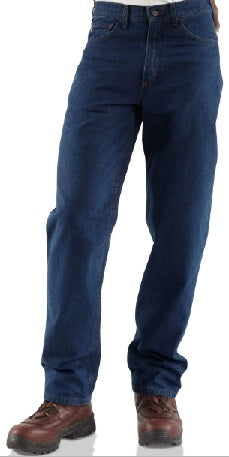 AMU CARHARTT FLAME-RESISTANT RELAXED FIT JEAN/STRAIGHT LEG