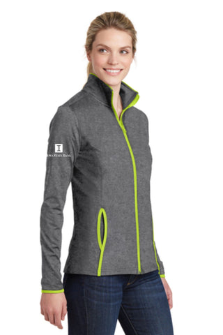 ISB Ladies Sport-Tek Stretch Contrast Full-Zip Jacket