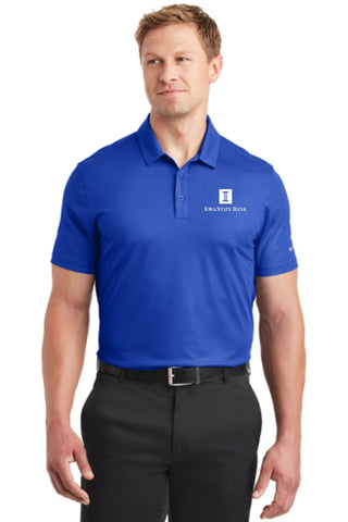 ISB Nike Dri-FIT Embossed Tri-Blade Polo