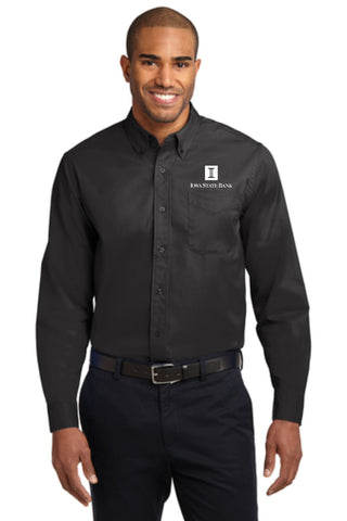 ISB Men's Port Authority Long Sleeve Easy Care Shirt