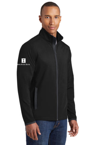 ISB Unisex Sport-Tek  Stretch Contrast Full-Zip Jacket