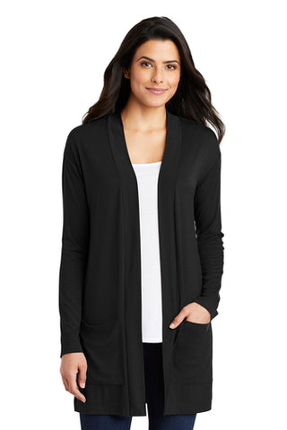 |Business Attire| Port Authority ® Ladies Concept Long Pocket Cardigan