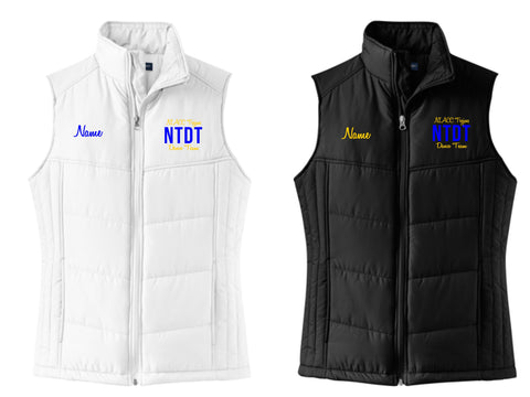 NIACC Dance Team Port Authority® Ladies Puffy Vest