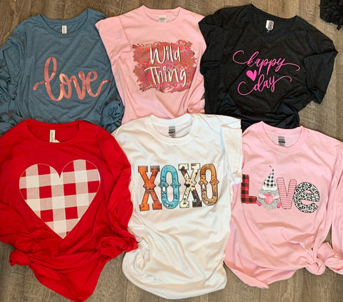 Valentines Day Graphic Tees