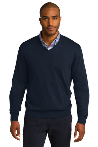 |Business Attire| Port Authority® V-Neck Sweater