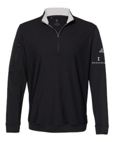 ISB Adidas - Performance Textured Quarter-Zip Pullover