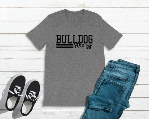 Bulldog Strong Bella&Canvas Tee