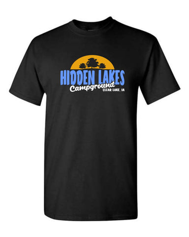 Hidden Lakes Campground - Sunset - Short Sleeve Tee (Youth/Adult)