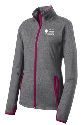 KRHC Sport-Tek® Ladies Sport-Wick® Stretch Contrast Full-Zip Jacket