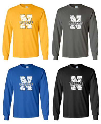 NIACC Volleyball Long Sleeve Tees
