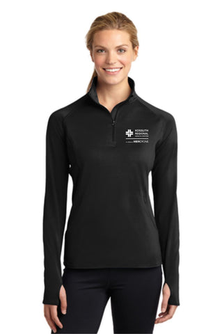 KRHC Sport-Tek® Ladies Sport-Wick® Stretch 1/2-Zip Pullover
