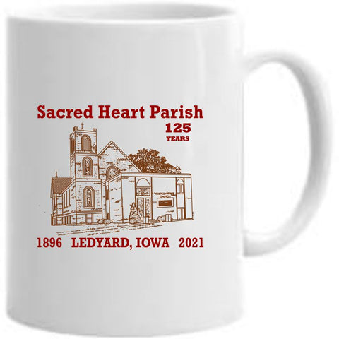 Sacred Heart Parish 15 oz mug