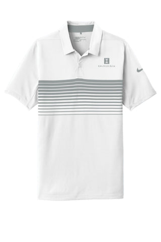 ISB Nike Dri-FIT Chest Stripe Polo (Logo Matches Stripes)
