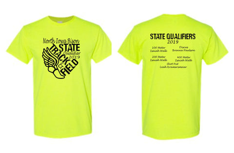 North Iowa Track Short/Long Sleeve 2019