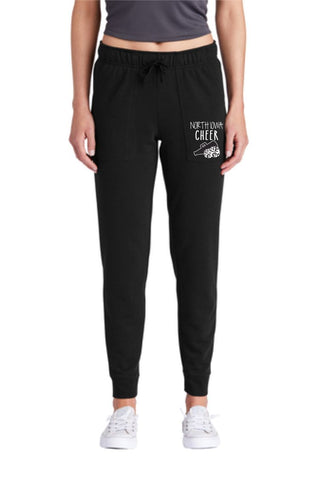 North Iowa Basketball Cheer Ladies Sport Tek Joggers 2021