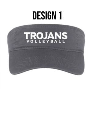 NIACC Volleyball Port and Co Visor