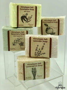 All Natural Himalayan Salt Soap