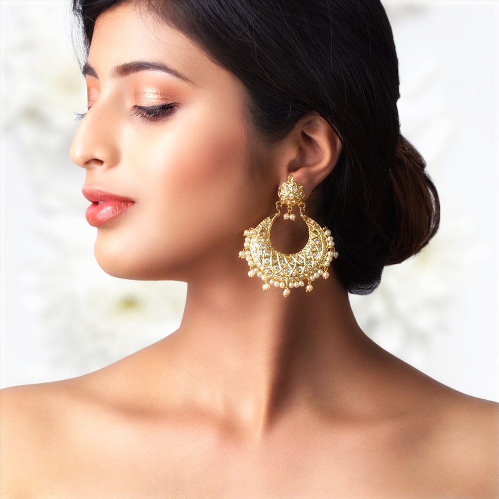Poorna Chand Balis with Pearls