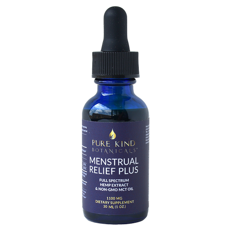 Pure Kind Botanicals™ - Hemp Extract Menstrual Relief Plus 1,100mg