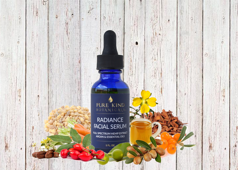 Pure Kind Botanicals™ - Hemp Oil Extract Radiance Facial Serum