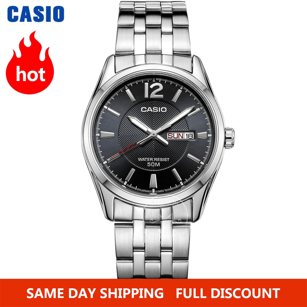 Montre Casio Waterproof Luminous men watch Sport - Laety's Beauty Cosmetics