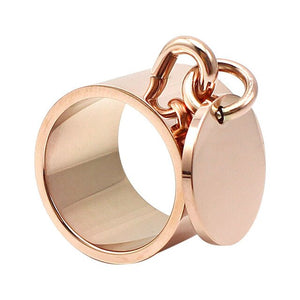 Bague/Rings for Women Laser Name/Logo Charm - Laety's Beauty Cosmetics