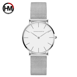 Montre pour femme waterproof High Quality 36mm Hannah Martin - Laety's Beauty Cosmetics