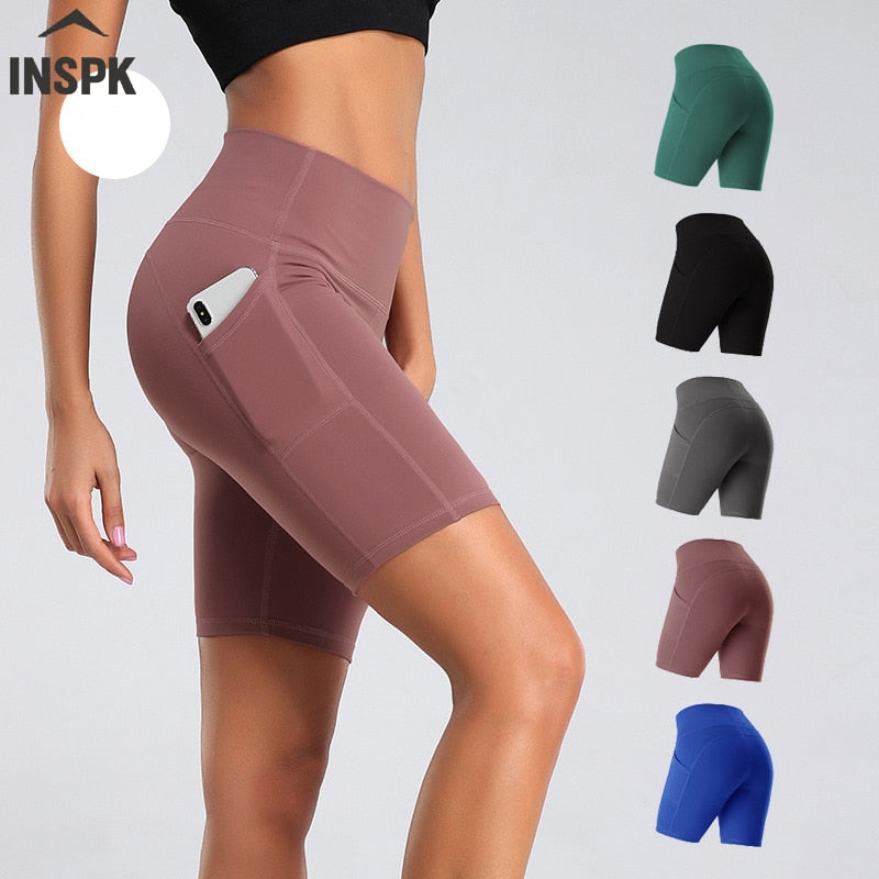 Shorts taille haute élastique Sport Shorts Push Up Fitness - Laety's Beauty Cosmetics