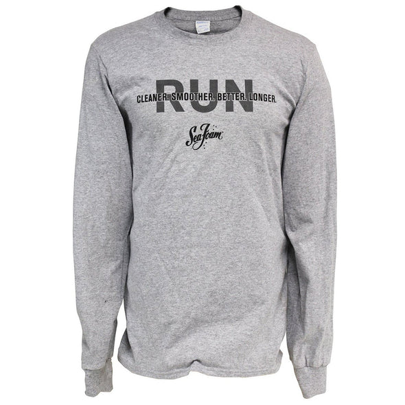 CLOSEOUT! Sea Foam Run Better Long Sleeve Tee