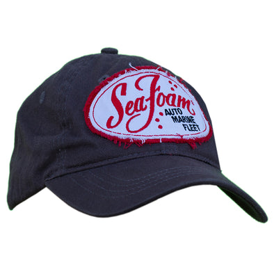 Sea Foam Distressed Patch Hat