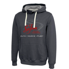Sea Foam Tire Tracks Hoodie