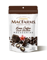 Kona Coffee Dark Chocolate Covered Macadamia Nuts