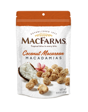 Load image into Gallery viewer, Coconut Macaroon Macadamia Nuts 10 oz