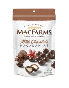 Milk Chocolate Macadamia Nuts 10 oz - BOGO!