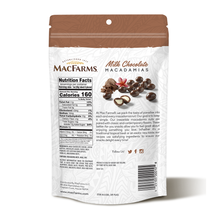 Load image into Gallery viewer, Milk Chocolate Macadamia Nuts 10 oz