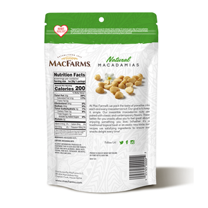 Natural Macadamia Nuts 9 oz