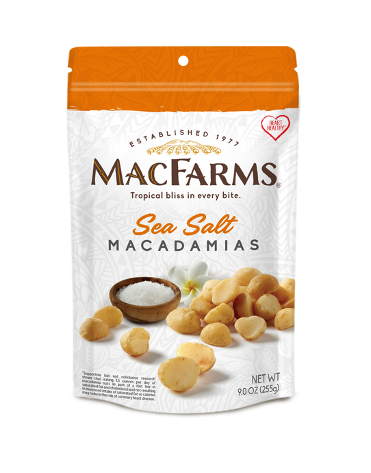 Sea Salt Macadamia Nuts 9 oz