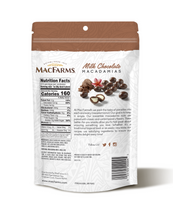 Load image into Gallery viewer, Milk Chocolate Macadamias - backside
