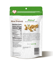 Load image into Gallery viewer, Natural Macadamias - MacFarms - Back