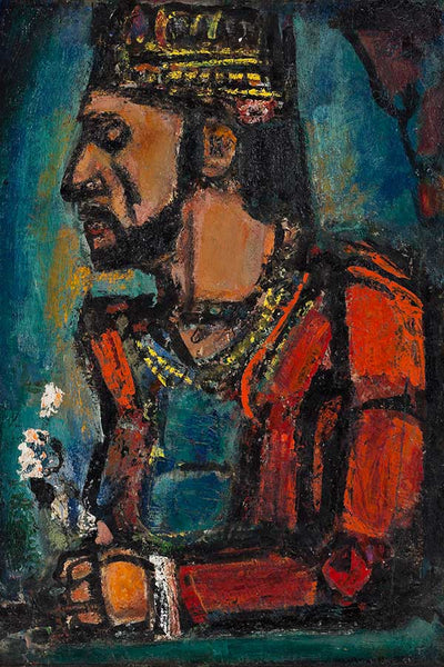 """Bức tranh """"The Old King, 1916–36"""" của họa sĩ Georges Rouault"""