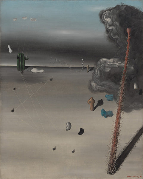 """""""Mama, Papa is Wounded!"""" (1927) của họa sĩ Yves Tanguy"""