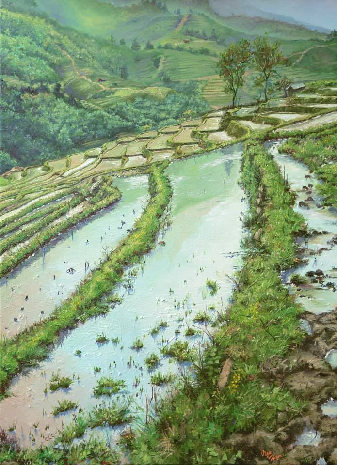 Painting collection of landscape, scenery - 1 - Thế giới Hội họa