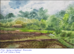 Painting collection of landscape, scenery - Thế giới Hội họa