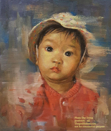 Custom portrait painting from photo - 6 - Thế giới Hội họa