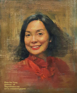 Custom portrait painting from photo - 7 - Thế giới Hội họa
