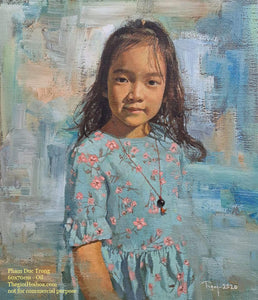 Custom portrait painting from photo - 2 - Thế giới Hội họa