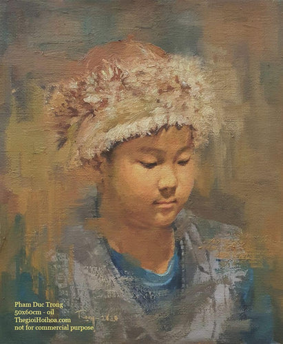 Custom portrait painting from photo - 3 - Thế giới Hội họa