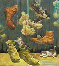 Load image into Gallery viewer, Shoes painting - Thế giới Hội họa